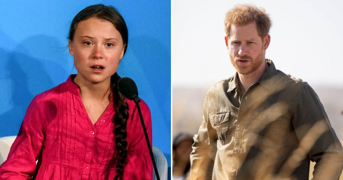 harry3 1.png?resize=1200,630 - Prince Harry Showed Support To Greta Thunberg's Fight Against Climate Change