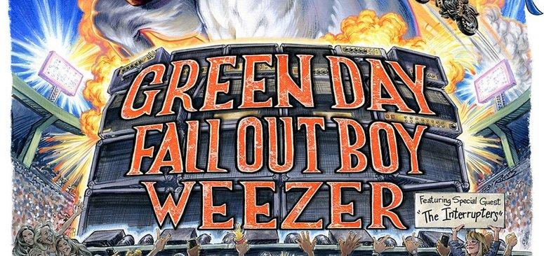 Musique: Green Day, Weezer et Fall Out Boy vont faire une ...