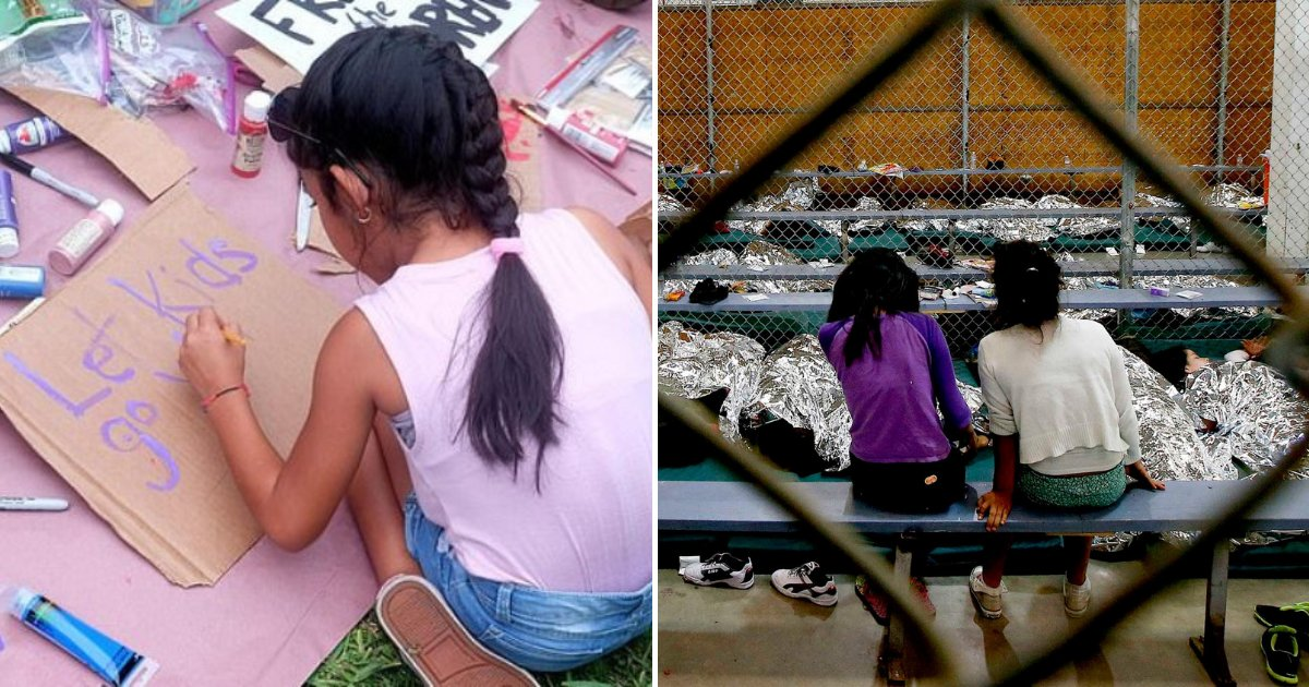 immigrant5.png?resize=1200,630 - Migrant Girls Forced To Wear Soiled Clothes And Were Visibly Bleeding Through Their Pants At Detention Centers