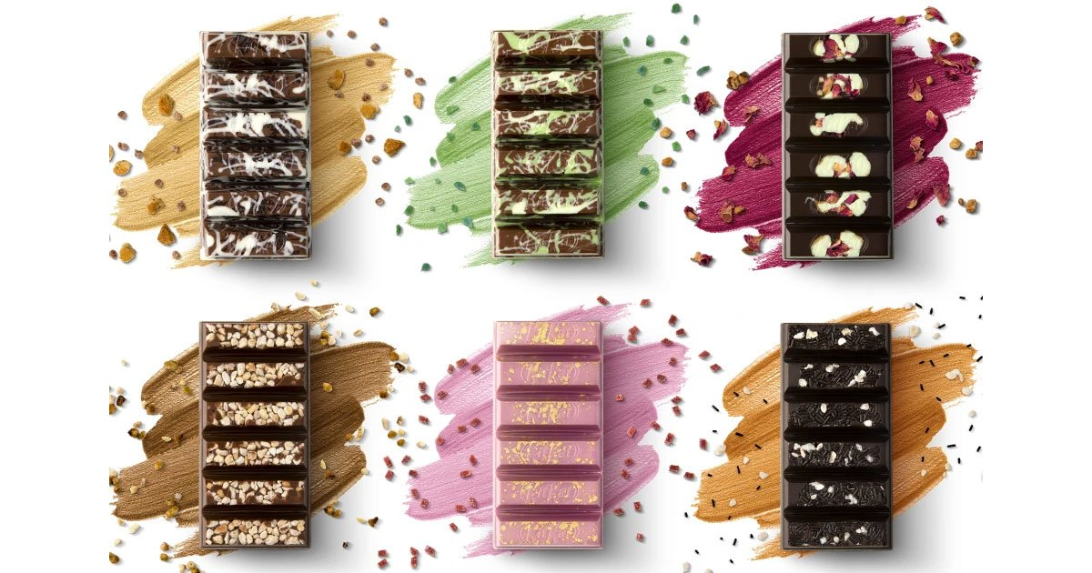 kitkat is launching handmade bars in more than 1500 new flavour combinations.jpg?resize=1200,630 - KitKat lance des boutiques pop-ups pour créer ses propres barres chocolatées