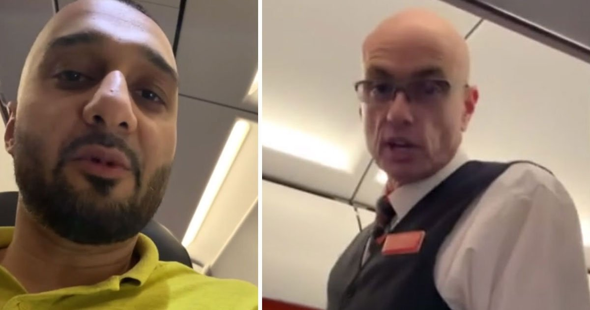 man accuses easy jet racism.jpg?resize=412,232 - EasyJet Passenger Accused Airline After A Flight Attendant Burst In On Him When He Was Using The Plane's Toilet