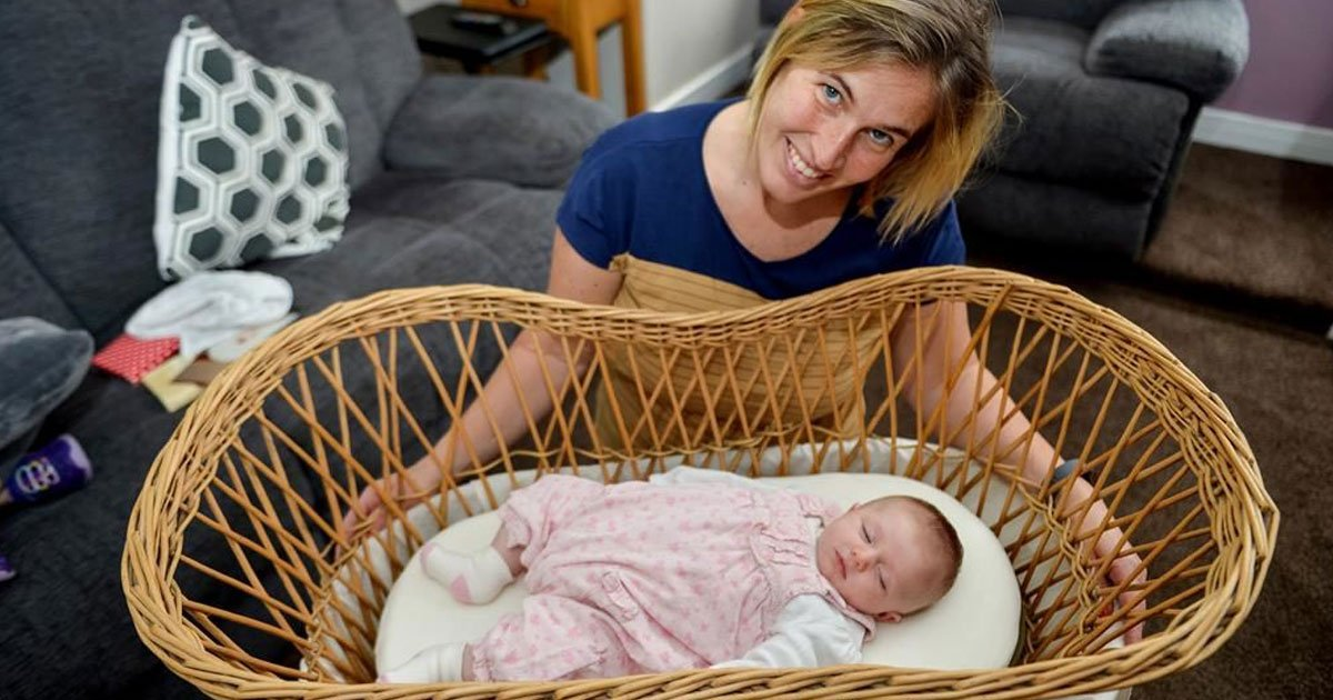 moses basket four generations.jpg?resize=412,232 - Family Used Moses Basket For Four Generations That Has Nurtured 36 Babies