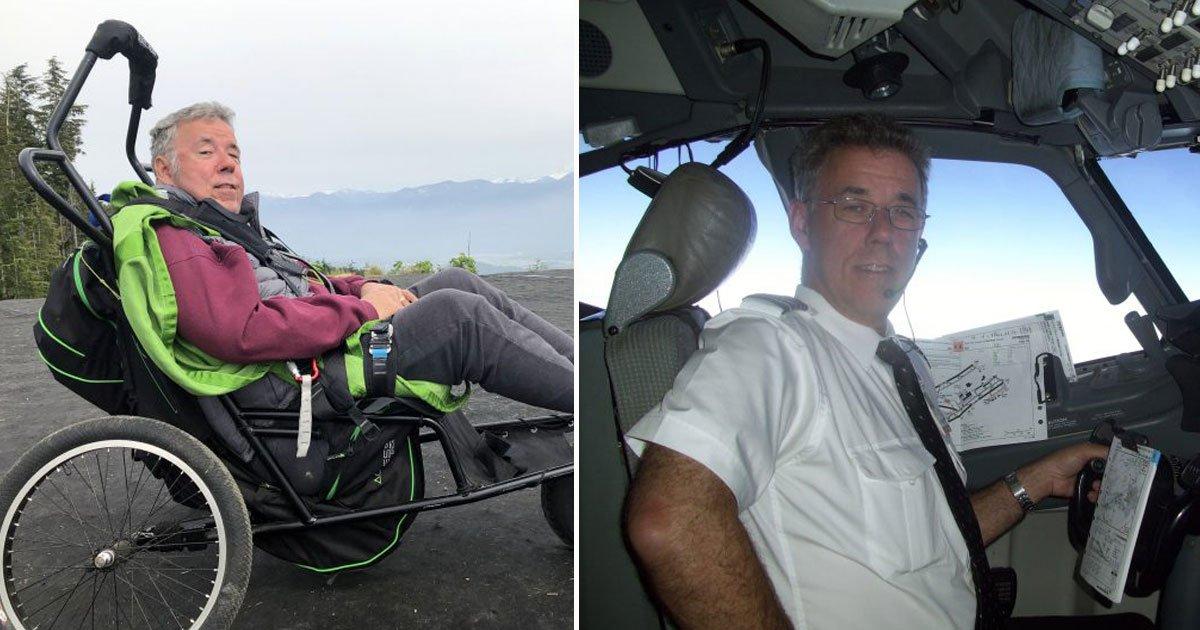 paralysed pilot first paragliding.jpg?resize=412,232 - Un pilote qui a été paralysé par un accident de plongée vient d'effectuer son premier vol en parapente