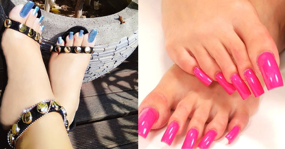 people are growing out their toenails after the bizarre long toenails trend.jpg?resize=1200,630 - People Who Are Taking The Long Toenails Trend Way Too Far
