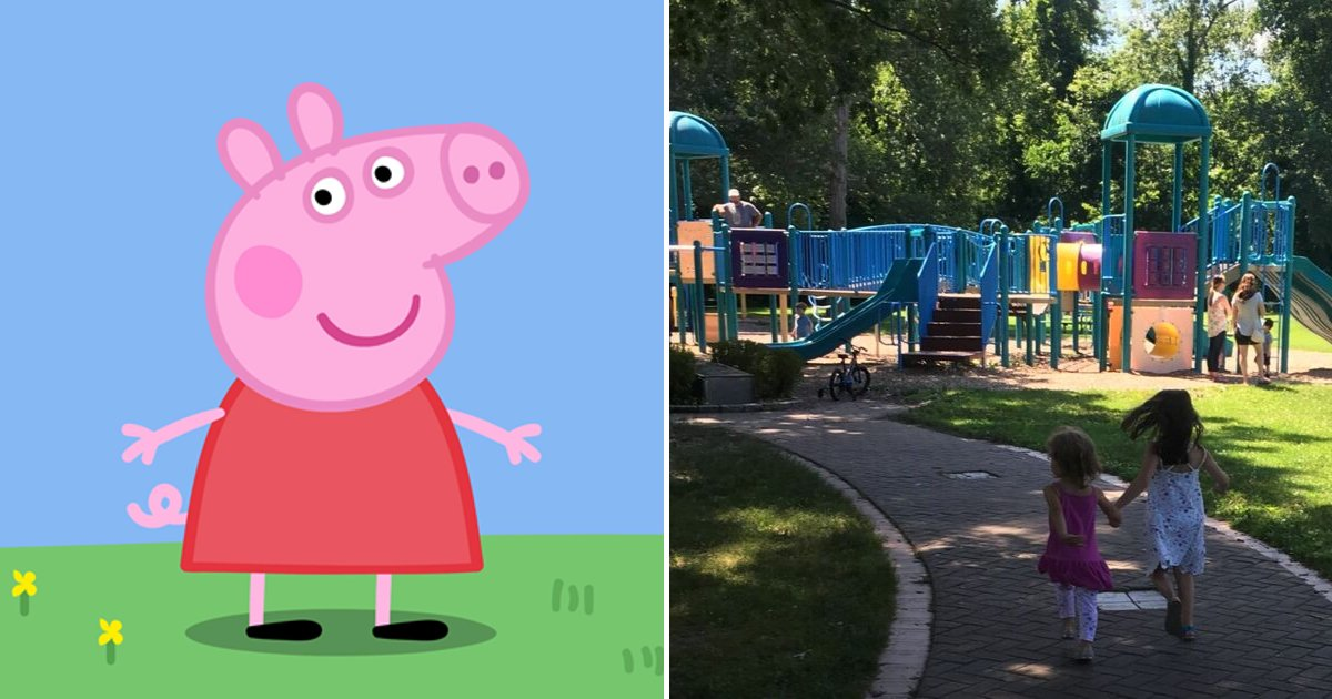 peppa2.png?resize=412,232 - Police Issued A Warning As Man In Peppa Pig Mask Tries To 'Lure Children Into Woods'