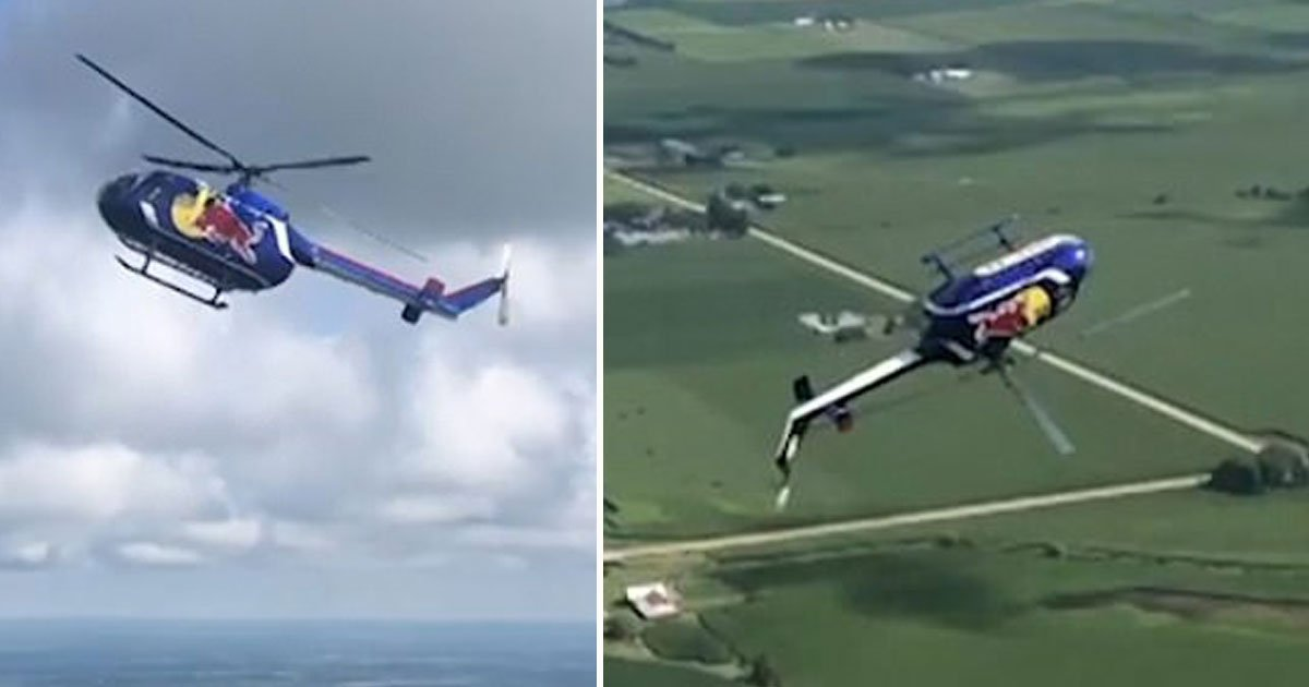 pilots backflip.jpg?resize=412,232 - Two Red Bull Pilots Performed A Dangerous Backflip At The Central Lowa Airshow