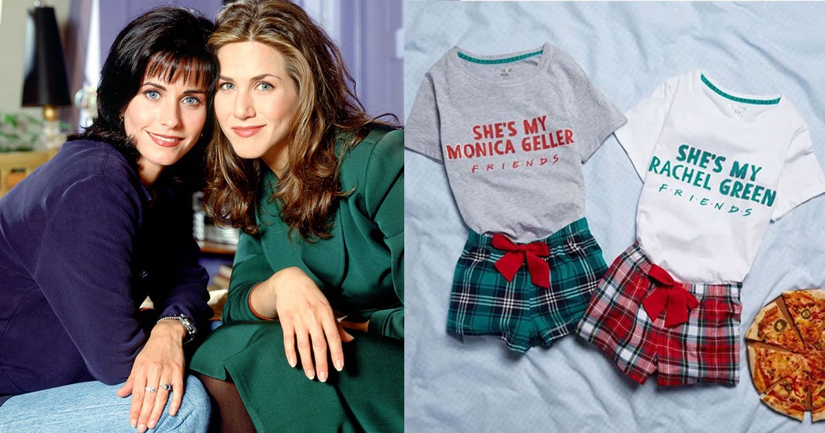 primark is selling matching bff pjs inspired by the friendship of monica geller and rachel green.jpg?resize=1200,630 - Matching BFF Pajamas Inspired By The Friendship Of Monica Geller And Rachel Green Is Now On Sale