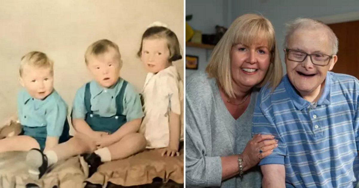 s2 15.png?resize=412,232 - Bonheur rare : Un homme atteint du syndrome de Down vient de fêter son 77ème anniversaire