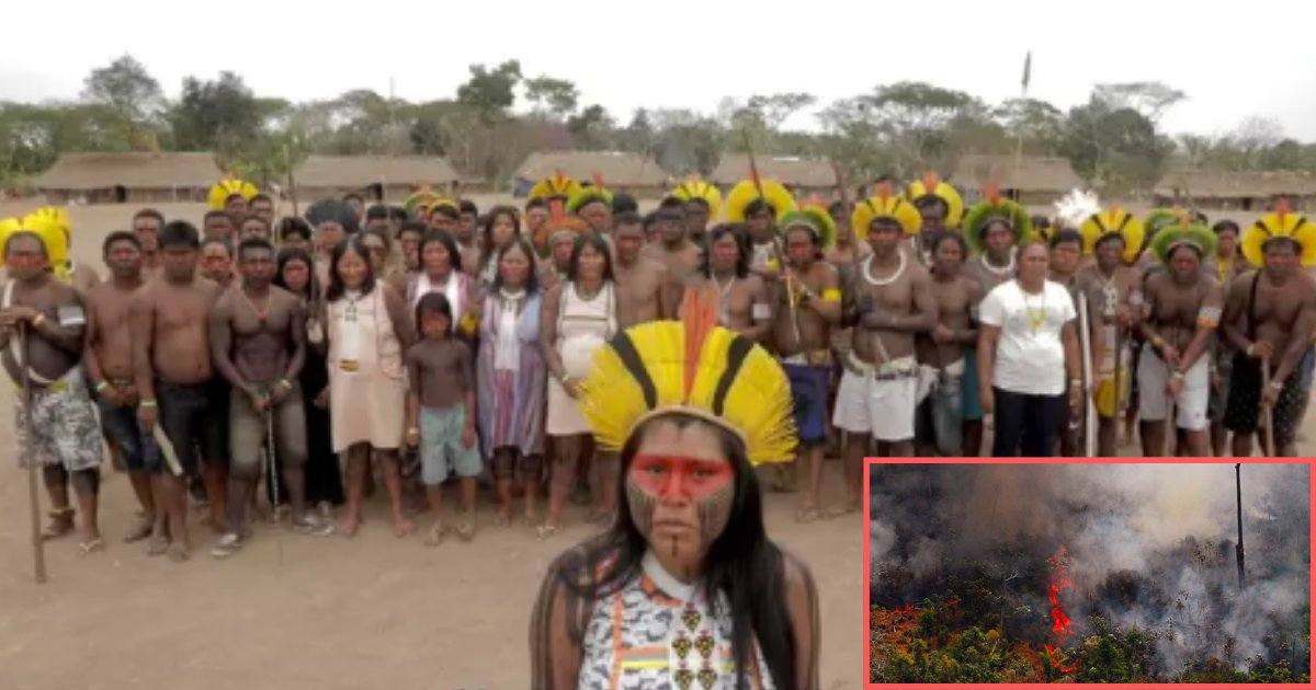 s2 2.png?resize=1200,630 - Amazon's Indigenous Tribes Came Together to Protect the Forest and Stand Against The Brazilian Government