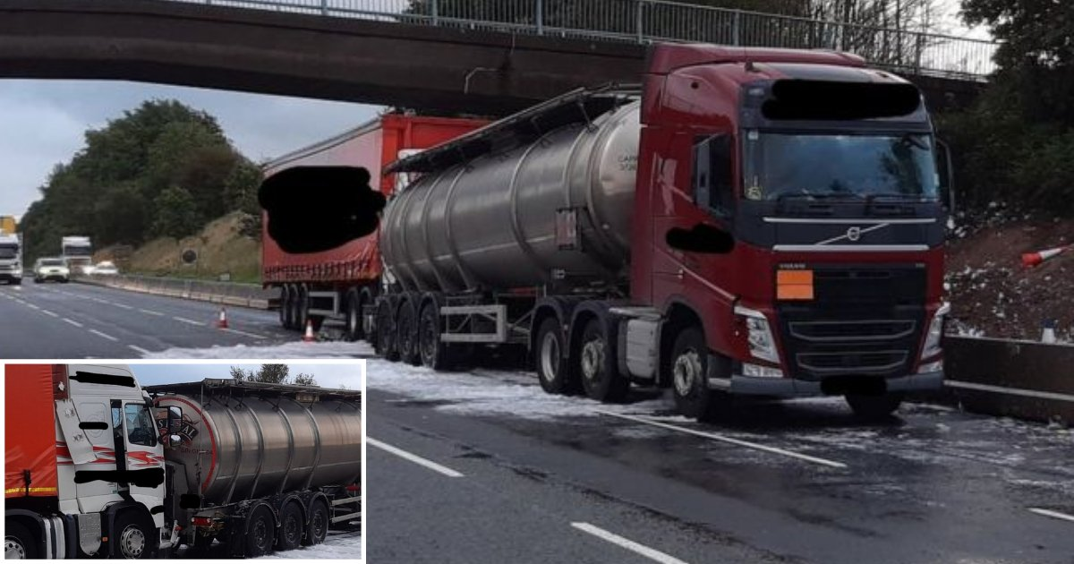 s3 5.png?resize=412,232 - M6 Motorway Reopens After the Leakage of 32,000 Litres of Gin From Accident