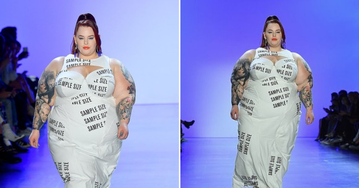 tess5.png?resize=412,275 - Plus-Size Model Stunned The Crowd As She Made Statement In Her White, Daring Dress