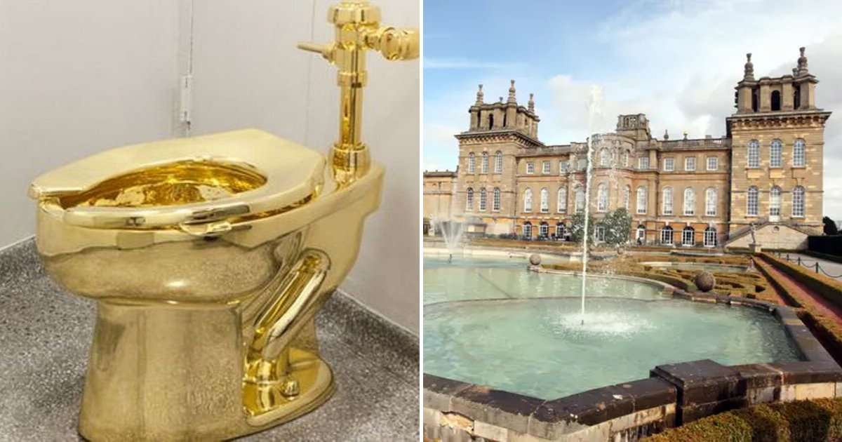 toilet5.png?resize=412,232 - Thieves Stole A Solid Gold Toilet From Blenheim Palace In Oxfordshire
