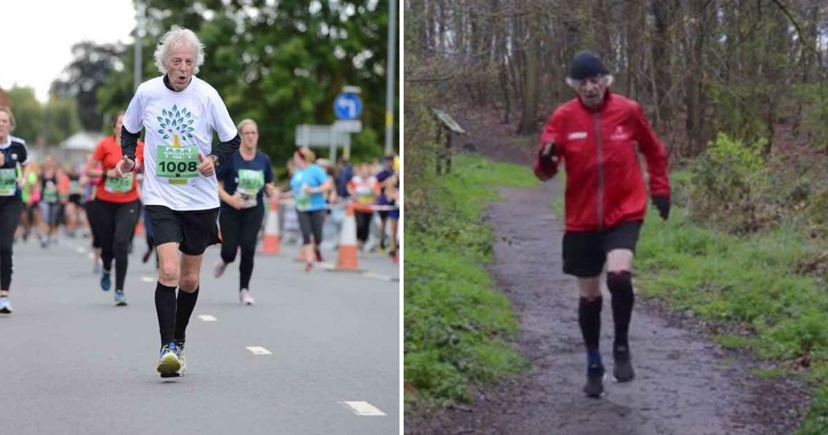 uk oldest runner.jpg?resize=412,232 - 80-Year-Old Army Veteran Is Selected To Run For England