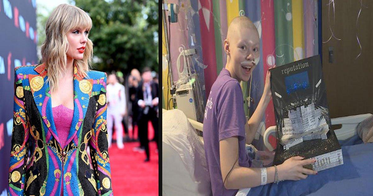 untitled 1 41.jpg?resize=300,169 - Taylor Swift a fait un don à un fan de 16 ans atteint d'un cancer