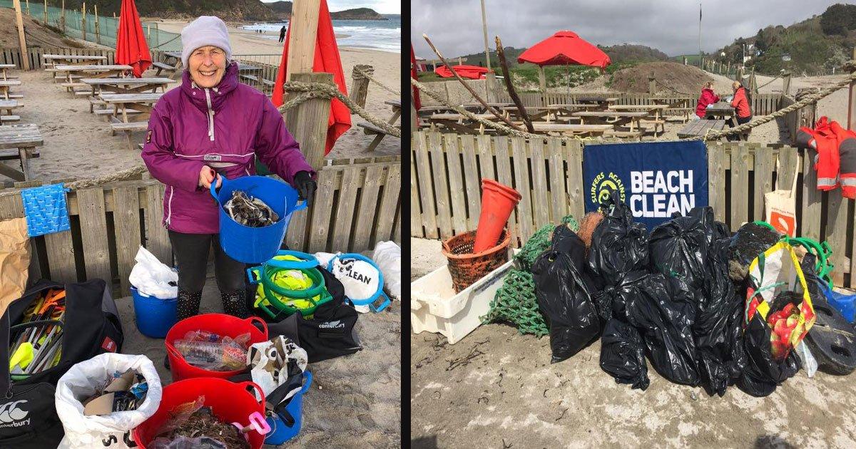 untitled 1 48.jpg?resize=412,232 - A 70-Year-Old Grandma Cleaned 52 Beaches In One Year