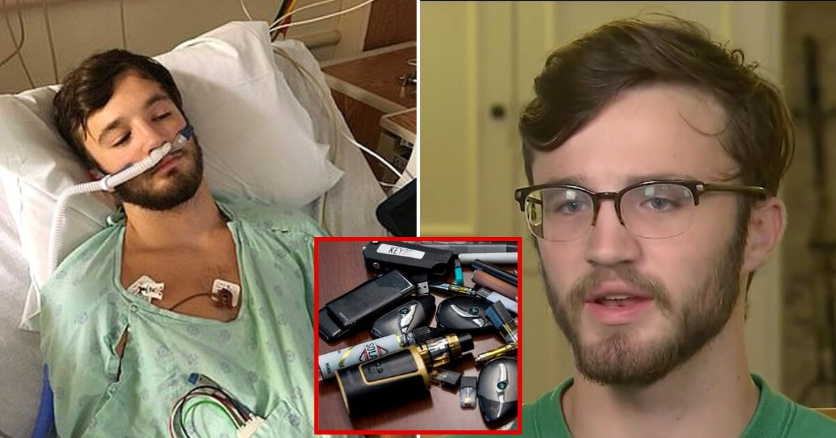 vaping6.png?resize=412,232 - 18-Year-Old With Mystery Disease Linked To Vaping Has Lungs Like 'A 70-Year-Old's'
