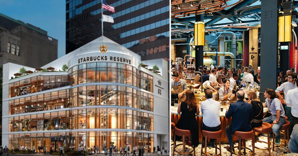 Starbucks Reserve Roastery Is Coming To Chicago And It Is