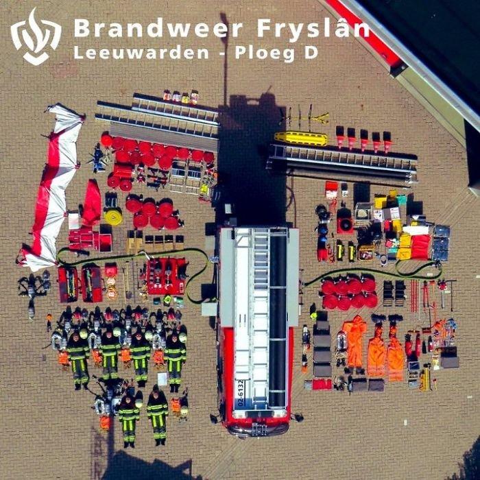 Dutch Fire Truck