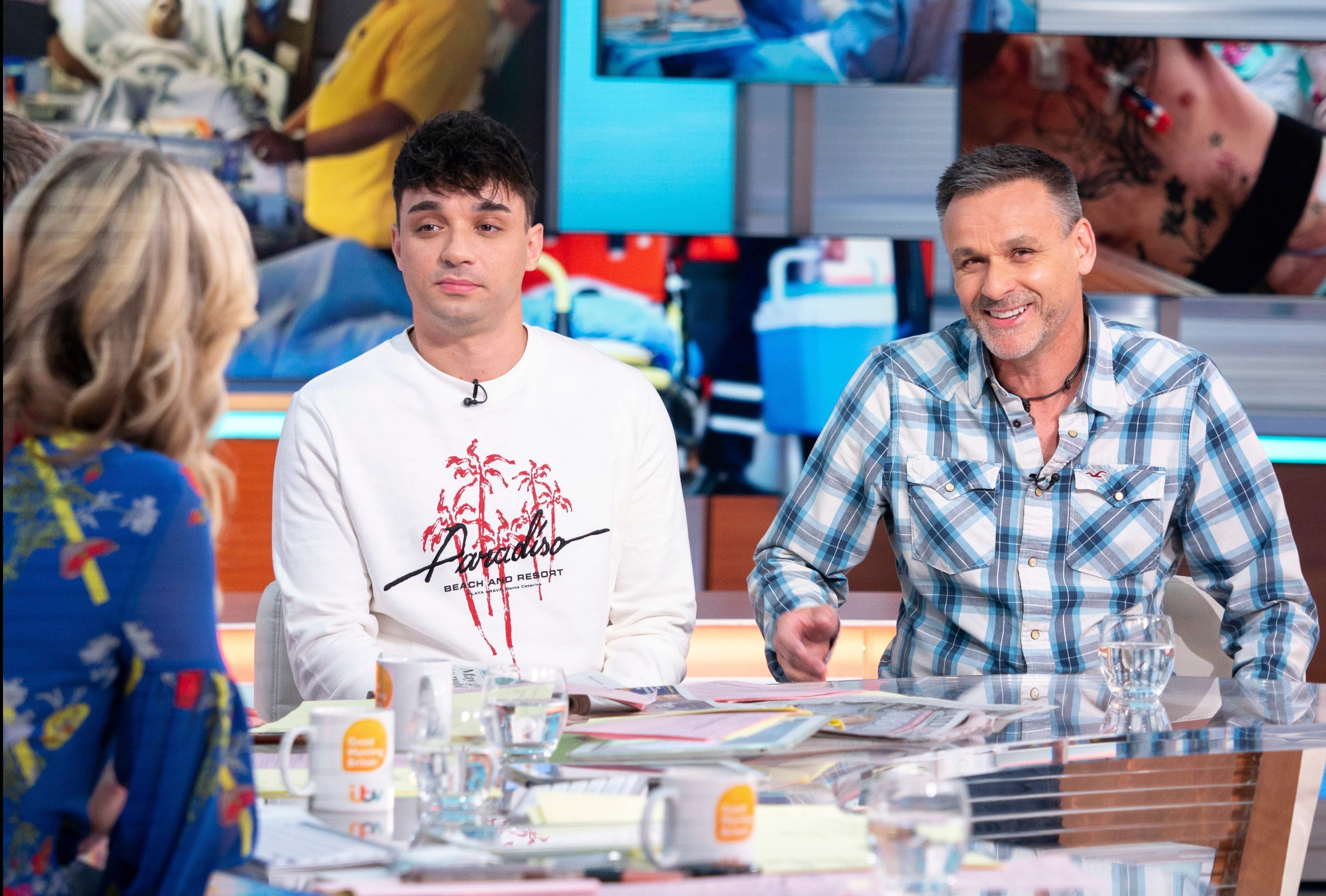 Lewis told Good Morning Britain he started suffering kidney problems when he was 11 – and was diagnosed with kidney disease at 17