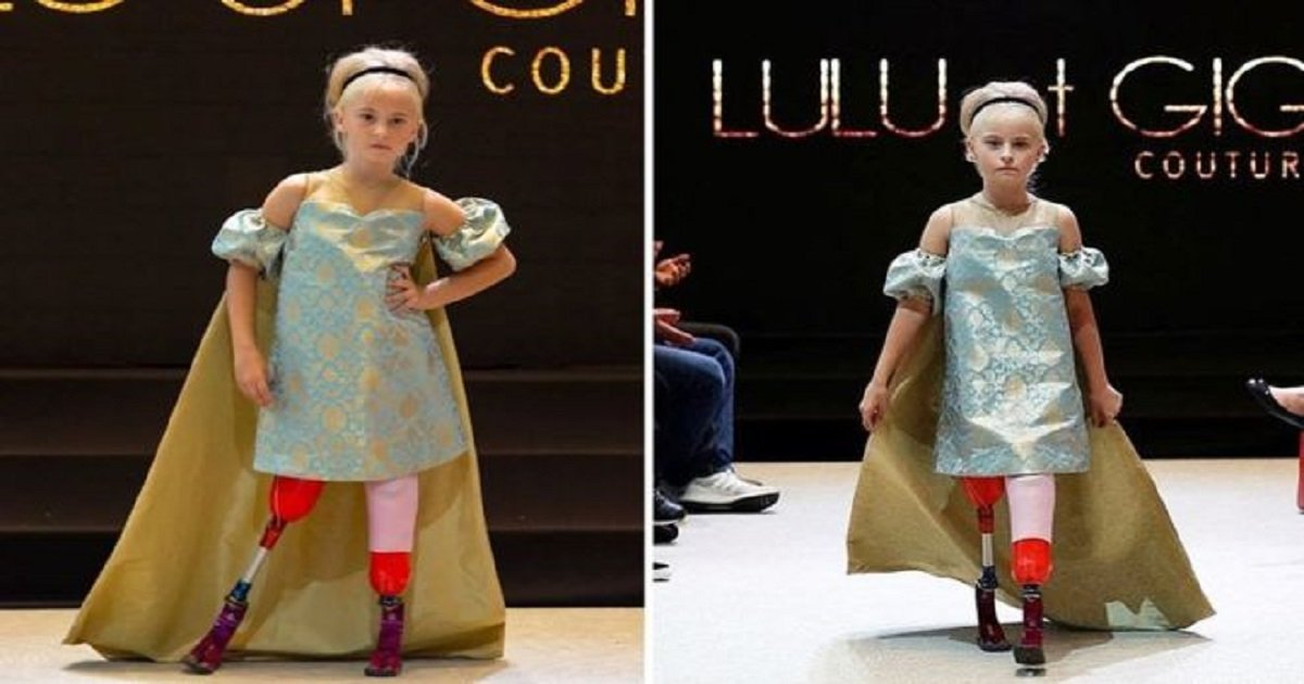 a3 1.jpg?resize=412,275 - A 9-Year-Old Double Amputee Model Walked The Ramp At Paris Fashion Week In An Amazing Debut