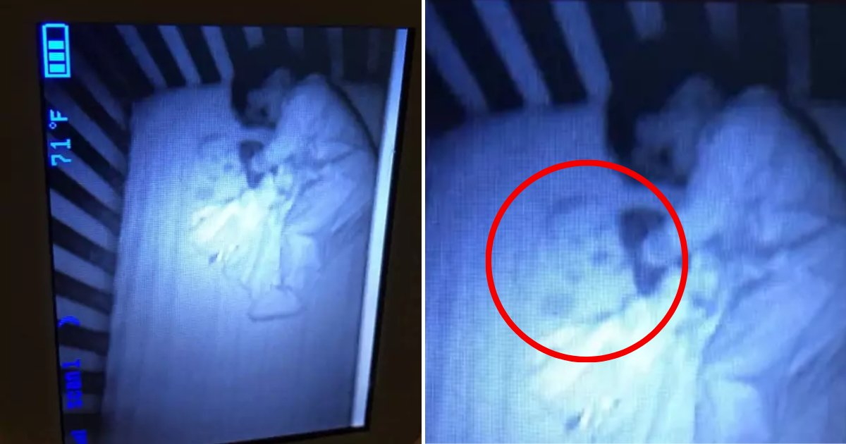 baby2.png?resize=300,169 - Mother Freaked Out When She Saw A 'Ghost BABY' In Her Son's Crib