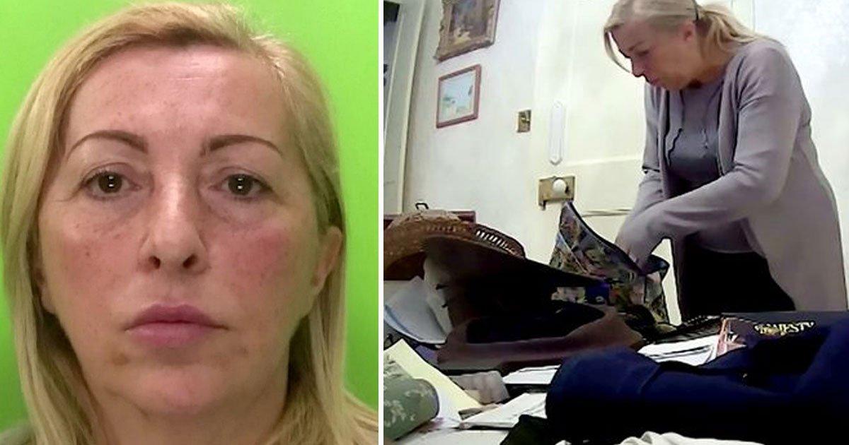 carer stealing hidden camera.jpg?resize=412,232 - Carer Caught On Hidden Camera Stealing £130 From A Dementia Patient's Home