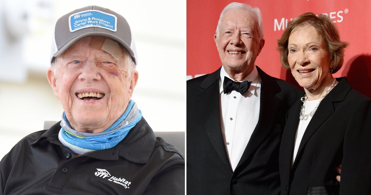 carter6.png?resize=1200,630 - 'It's Hard To Live Until You're 95,' Jimmy Carter Shares How His Faith And Wife Rosalynn Keep Him Going