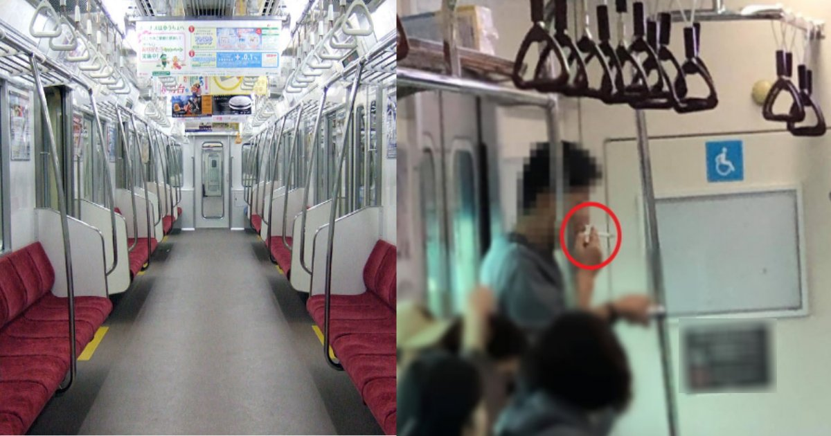 chikatetsu.png?resize=1200,630 - 地下鉄で堂々とタバコを吸っている男現る?動画が即拡散され大炎上!