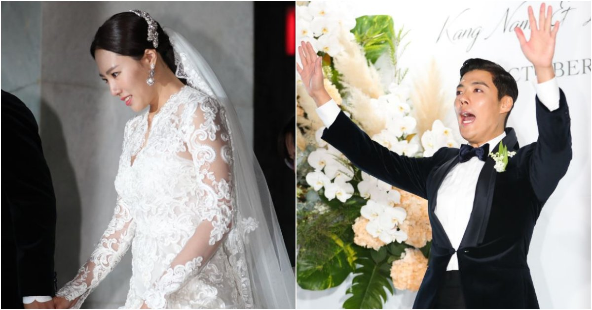 collage 34.png?resize=412,232 - 드디어 결혼했다!! '강남-이상화' 드디어 된 '부부'.jpg