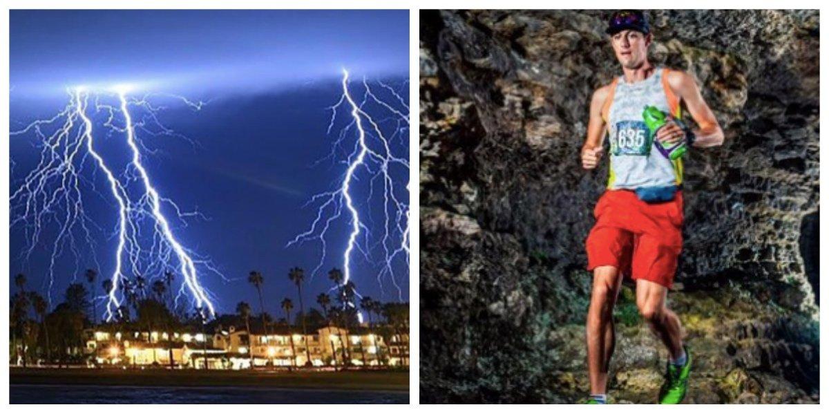 collage fotor 15.jpg?resize=1200,630 - トレイルラン参加者 ゴール目前で落雷によって死亡 100万分の1の確率で遭うかもしれない落雷被害から助かるには?!
