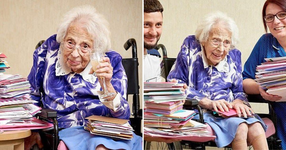 dorothy5.png?resize=412,232 - Woman Celebrated 108th Birthday And Received More Than 650 Cards After Care Home's Plea Went Viral