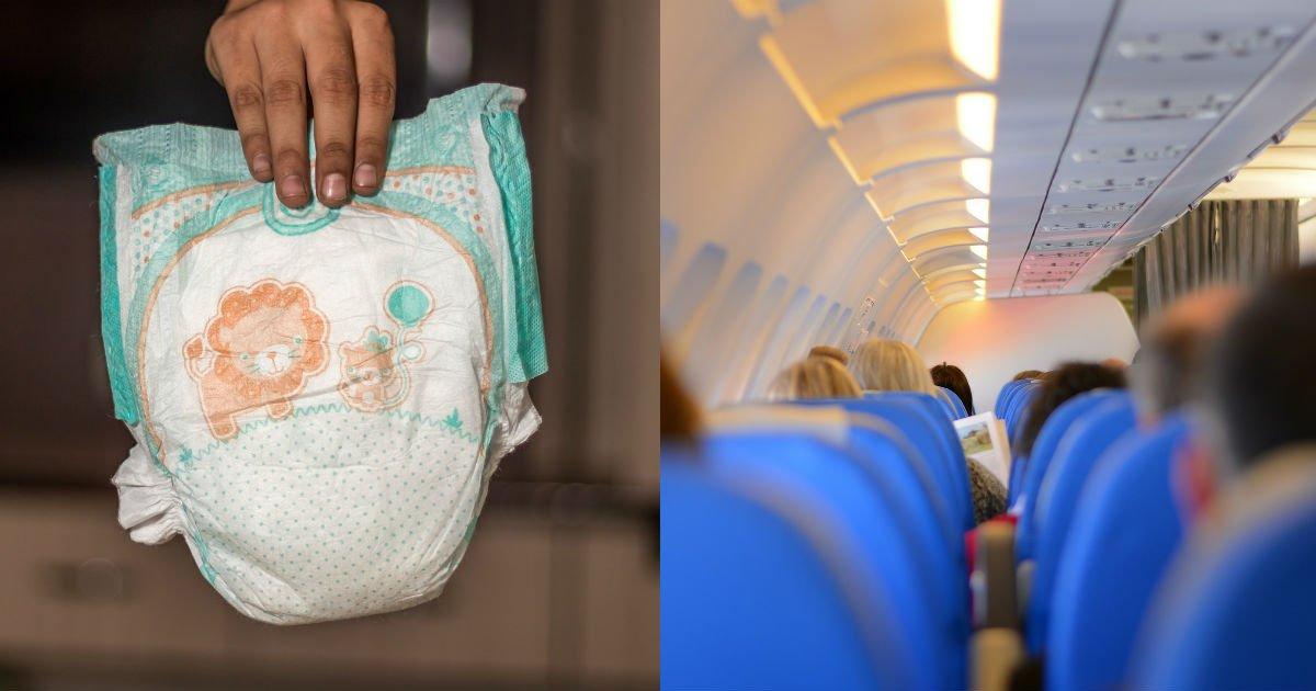 """ec8db8eb84a4ec9dbc 28.jpg?resize=300,169 - """"기저귀를 의자 밑에.."""" 비행기에서 '기저귀' 버리는 장소로 승무원과 실랑이 논란"""