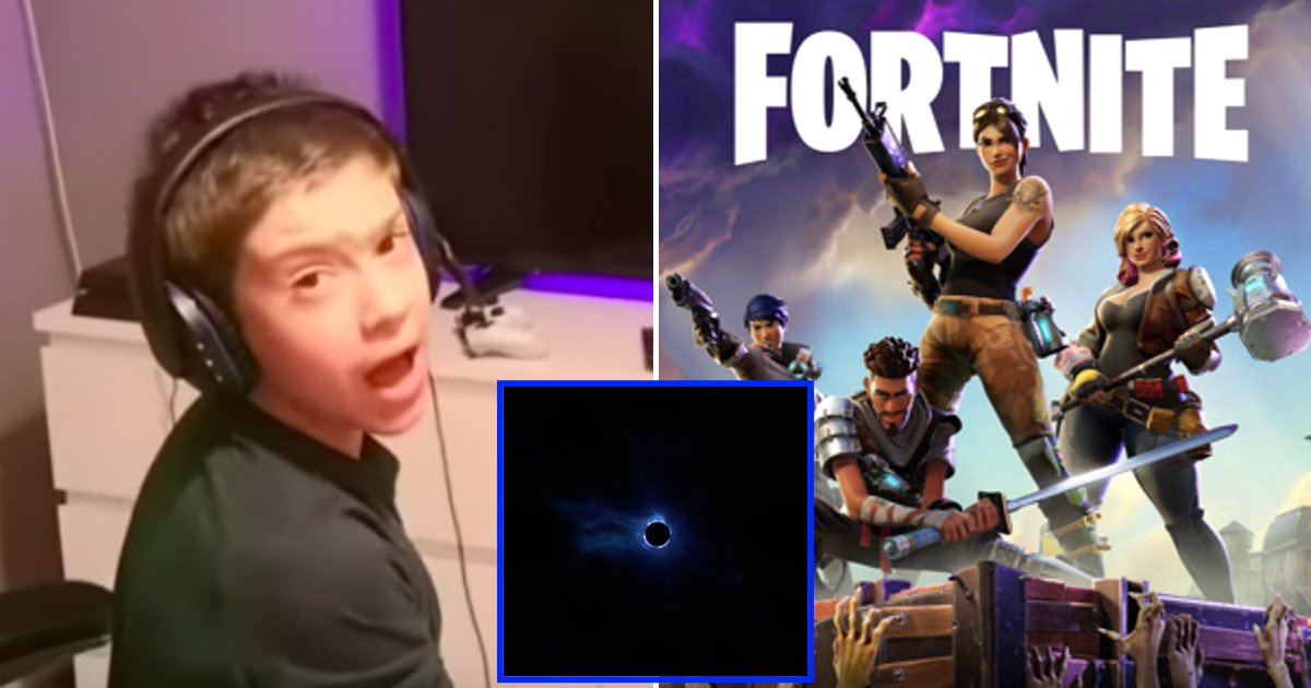 fortnite6.png?resize=412,232 - Parents Say Their Children Feel 'Heartbroken' As Entire 'Fortnite' Map Has Been Sucked Into A Black Hole