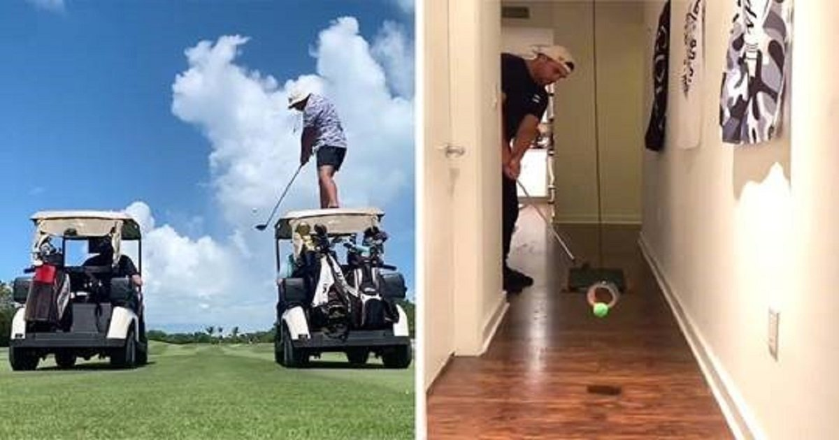 g3 1.jpg?resize=412,232 - Slick Golfer Performed Amazing Trick Shots Both On And Off The Green