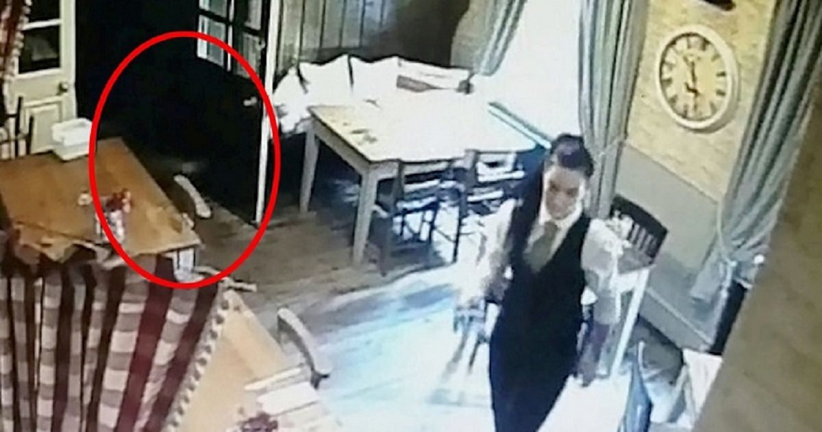 """g3 5.jpg?resize=412,232 - """"Convincing"""" CCTV Footage Appeared To Show A Child-Like Ghost Following A Waitress Around The Pub"""