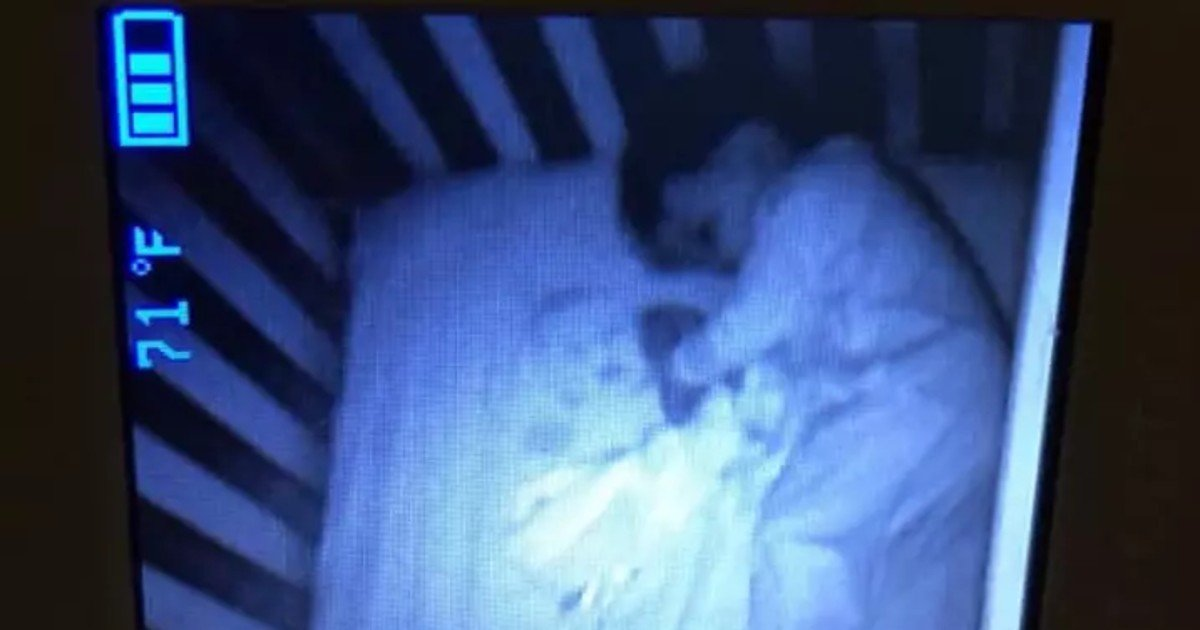 ghost.jpg?resize=412,232 - Mother Freaked Out When She Saw A Ghost Baby In Her Son's Crib