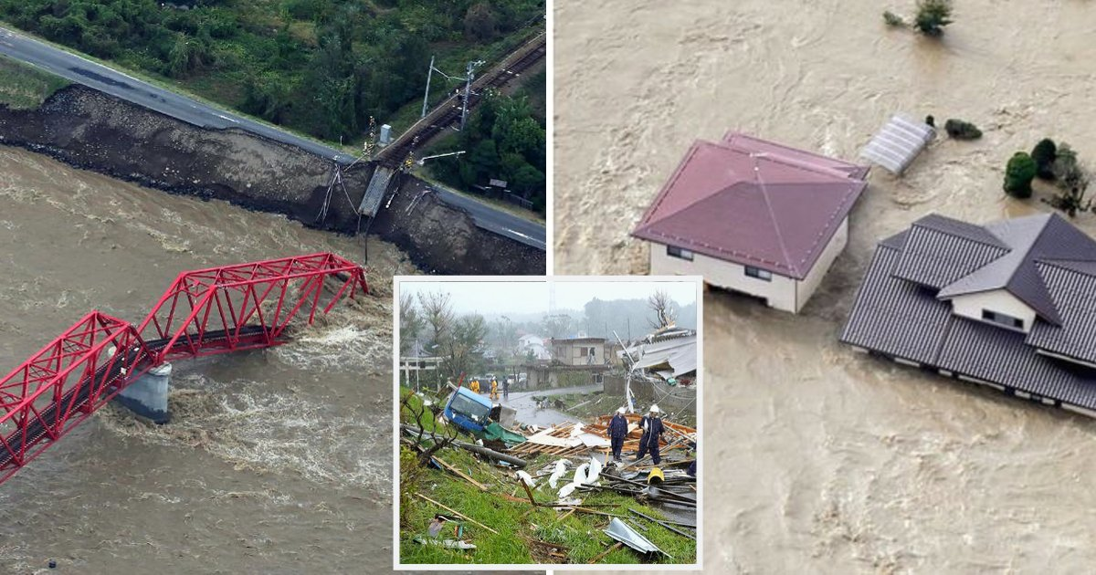 japan8.png?resize=300,169 - Un typhon et un tremblement de terre frappent le Japon, obligeant 7 millions de personnes à évacuer