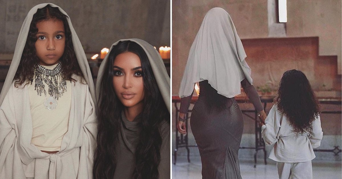 kim6 1.png?resize=412,232 - Kim Kardashian And Her Kids Were Baptized In Armenia, The KUWTK Star Shared Photos From Ceremony