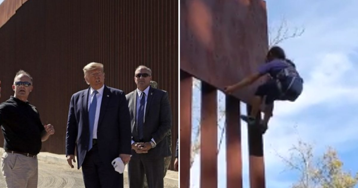 leo7.png?resize=1200,630 - 8-Year-Old Girl Proves How Easy It Is To Climb Trump's 'Impenetrable' Border Wall Replica