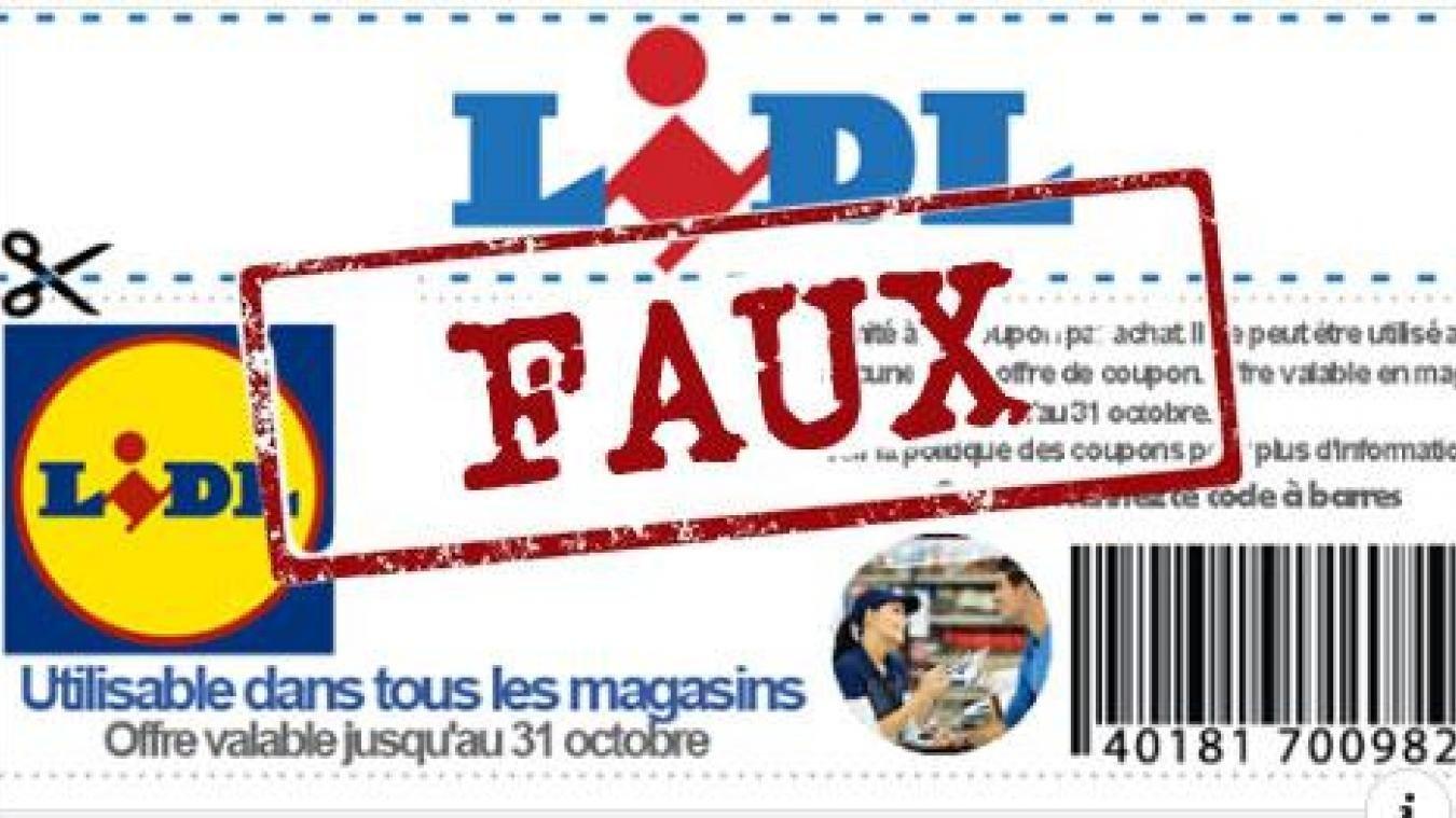 lidl.jpg?resize=412,232 - Alerte arnaque: les faux bons d'achat de 50€ chez LIDL sont de retour sur Facebook