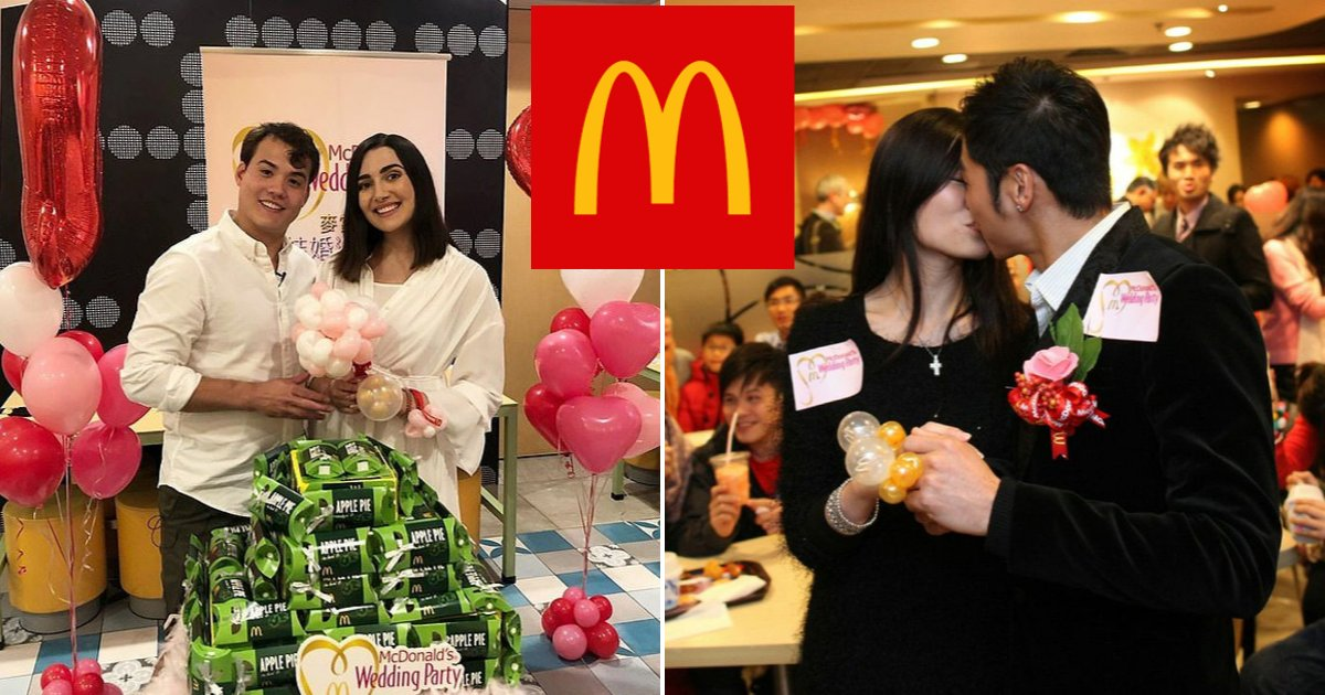 mcdo6.png?resize=412,232 - Couples Can Now Tie The Knot For Less Than $600 By Hosting Wedding Party At McDonald's