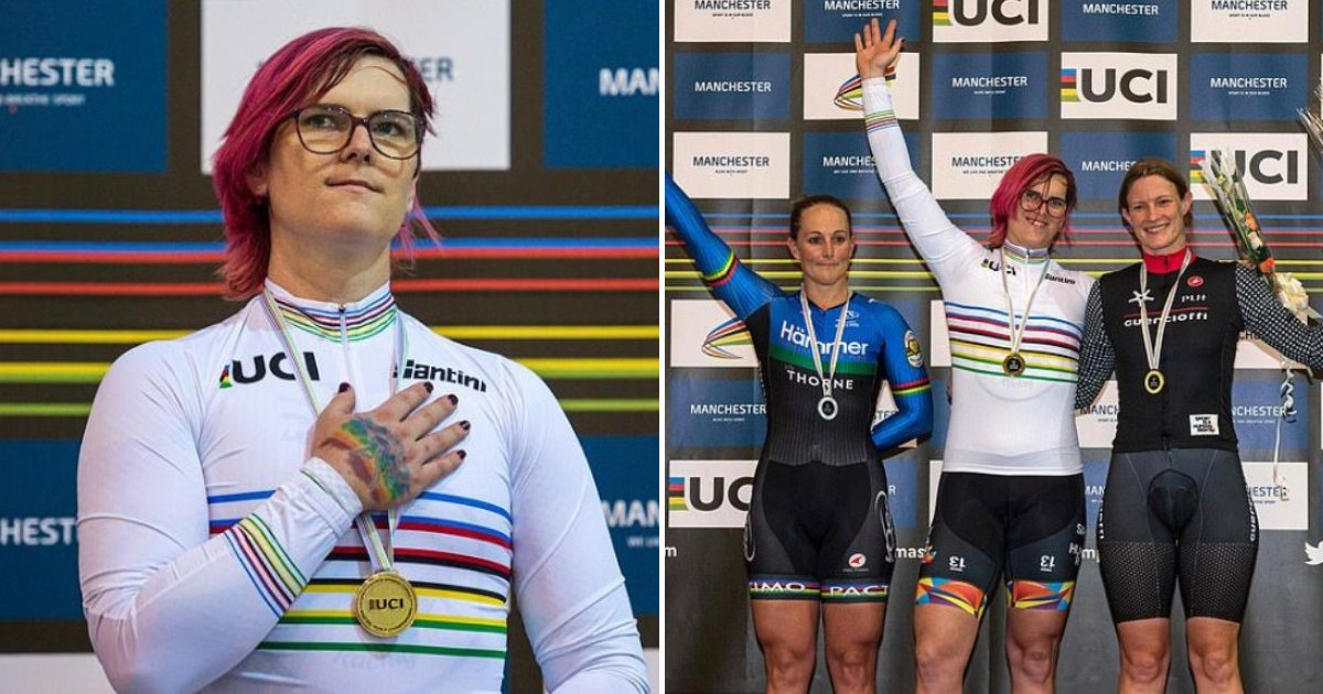 mckinnon10.png?resize=412,232 - 37-Year-Old Trans Cyclist Defended Herself From Critics After Winning Third World Title And 2nd World Record