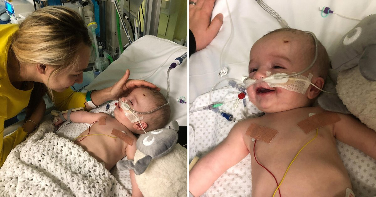 michael5.png?resize=412,232 - Baby With Rare Heart Tumor Woke Up From Coma Smiling, He Now Needs Life-Saving Surgery
