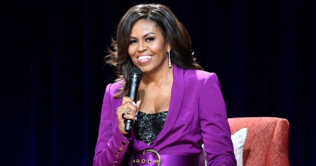 michelle obama 1.jpg?resize=412,232 - Michelle Obama To Release 'Becoming: A Guided Journal For Discovering Your Voice'