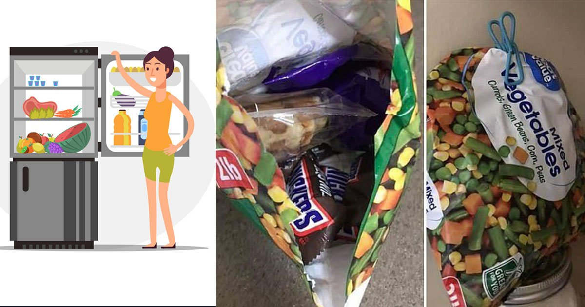 mom shared clever trick to hide chocolate stash from kids inside frozen packets of vegetables and took the internet by storm.jpg?resize=1200,630 - Mom Shared Her Clever Trick Of Hiding Chocolate Inside A Packet Of Frozen Vegetables