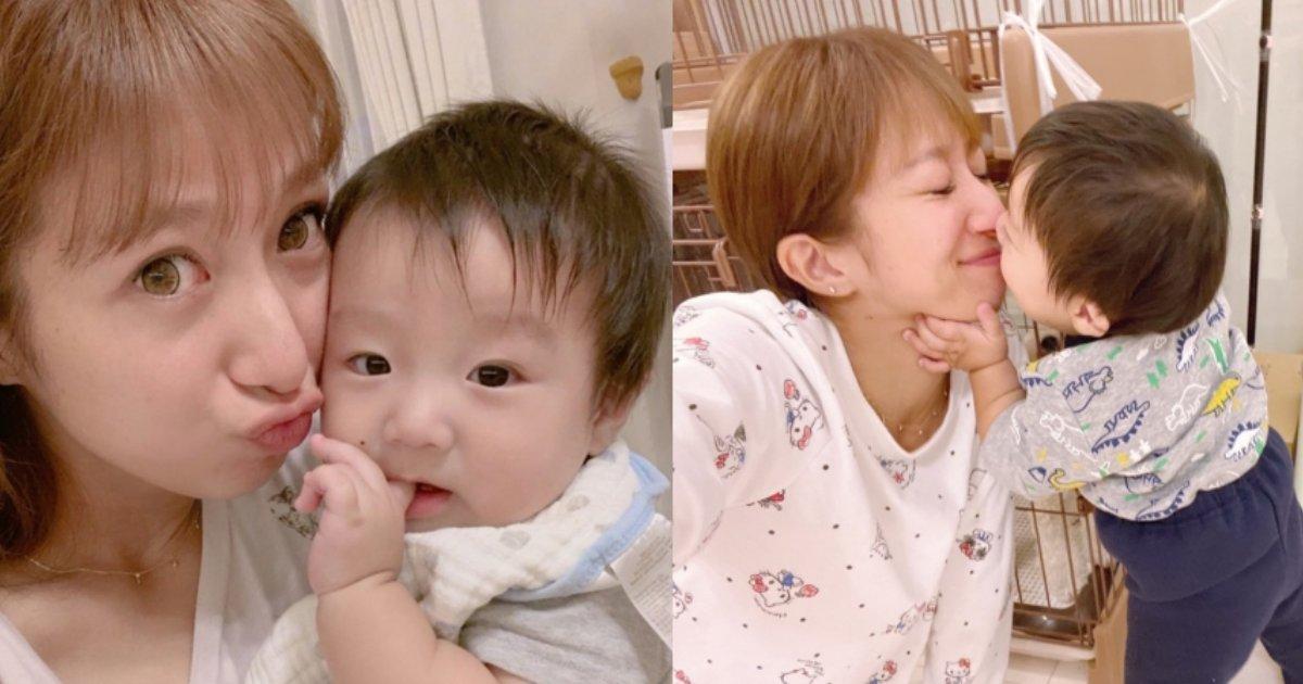 musuko.png?resize=1200,630 - 辻希美が息子との「キス写真」にドン引き!「ネタ作りやめろ」と叩かれる始末…