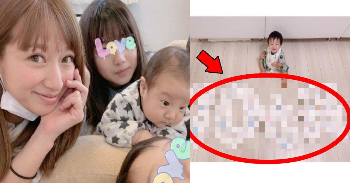 nozomi.png?resize=1200,630 - 辻希美が息子の10ヶ月記念日にオムツアートを披露も「不衛生すぎ!」と批判殺到