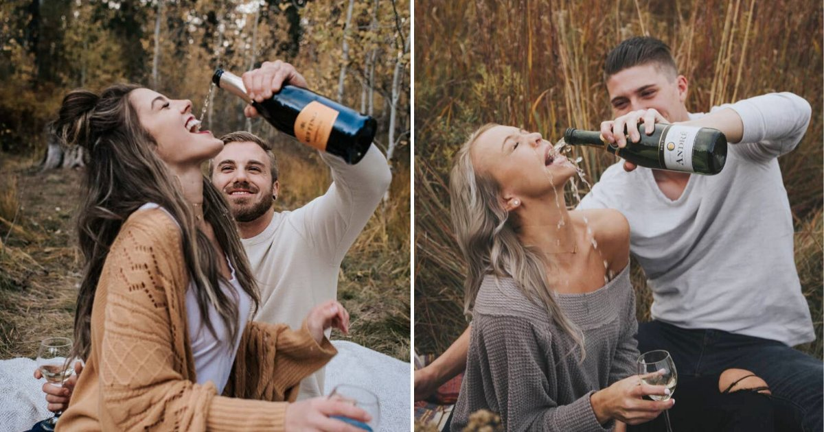 photo6.png?resize=412,232 - Couple's Champagne Engagement Photo Fail Went Viral On Social Media