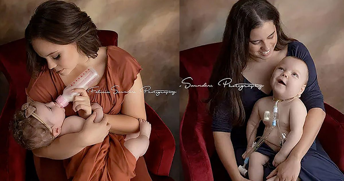 photographer captured mothers feeding their babies in different ways and called magic.jpg?resize=412,232 - Photographer Captured The Beautiful Moments Of Three Mothers Feeding Their Babies In Their Own Ways