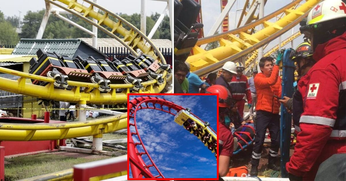 roller6.png?resize=1200,630 - Speeding Rollercoaster Flipped Over Mid-Ride, Throwing Two Riders Out And Injuring Five